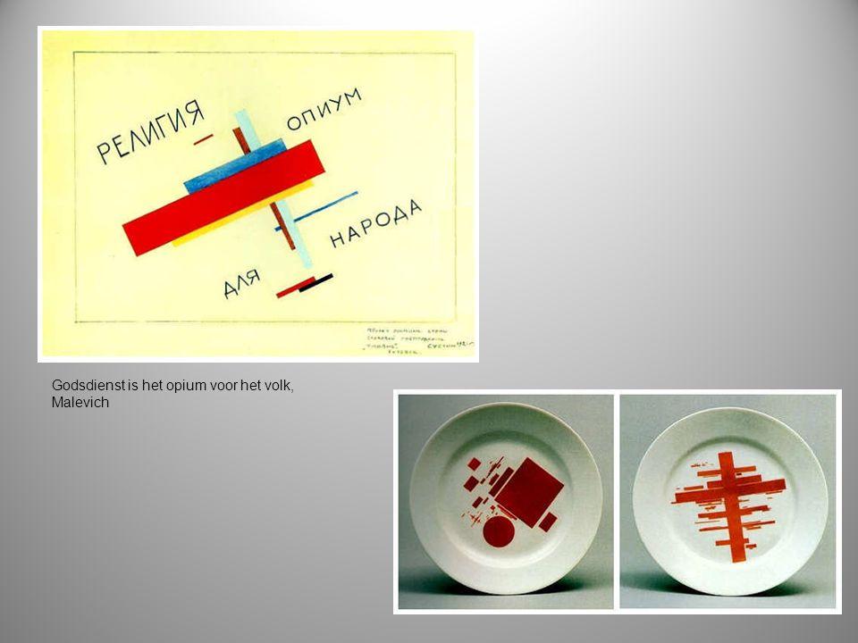 Godsdienst is het opium voor het volk, Malevich