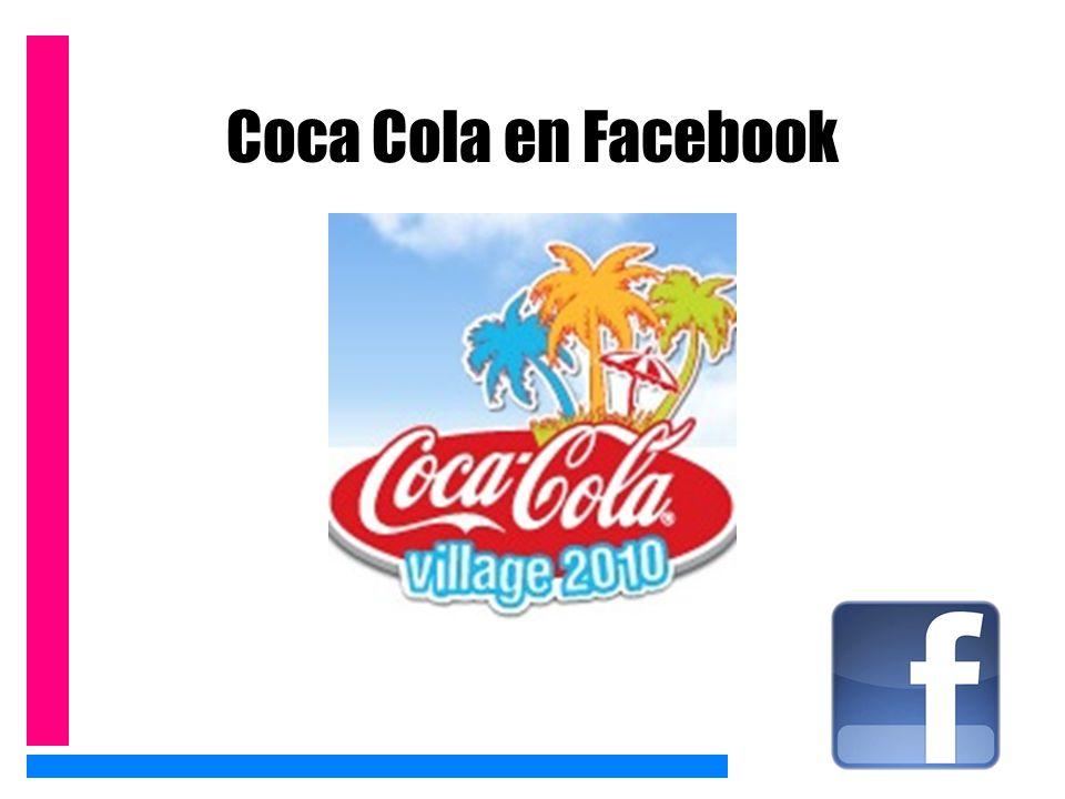 Coca Cola en Facebook