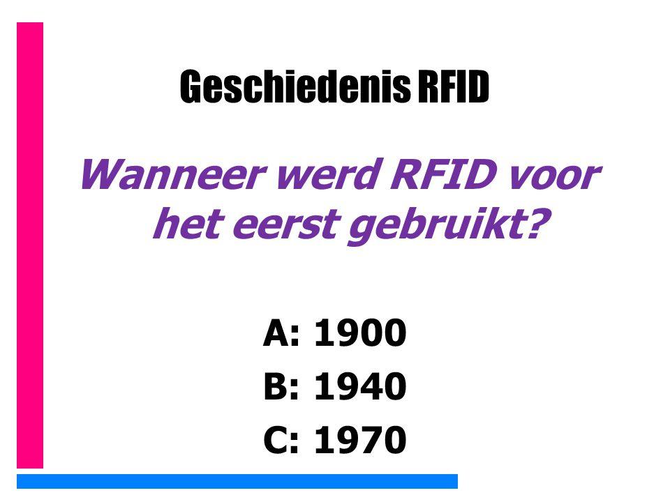 RFID in fietsen Volgens Joop Atsma van het CDA moeten alle fietsen in Nederland van RFID-chips worden voorzien.