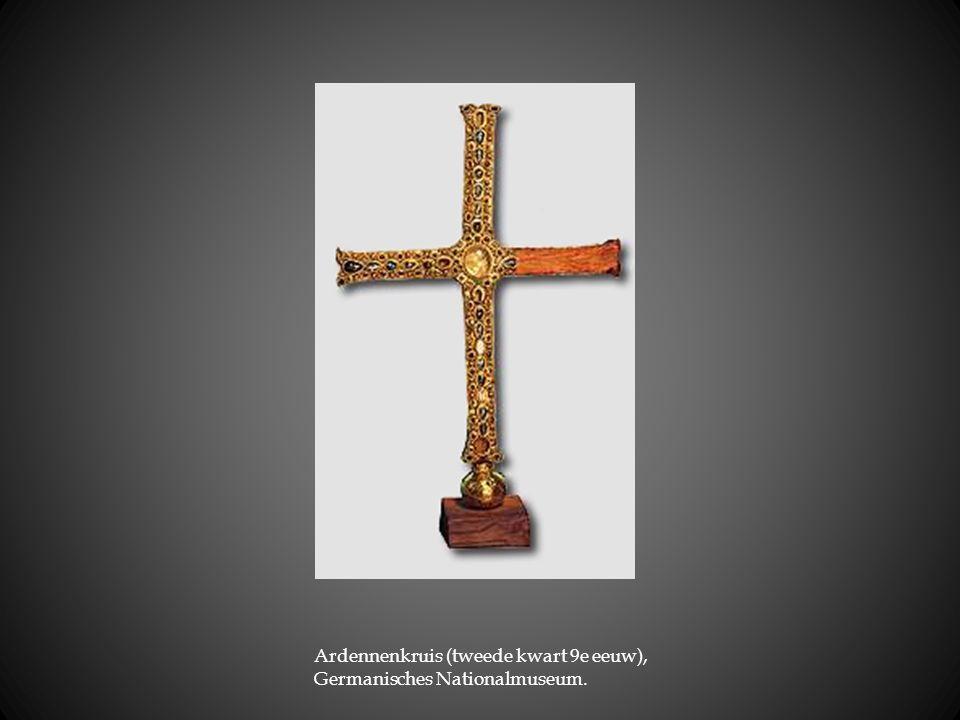 Ardennenkruis (tweede kwart 9e eeuw), Germanisches Nationalmuseum.
