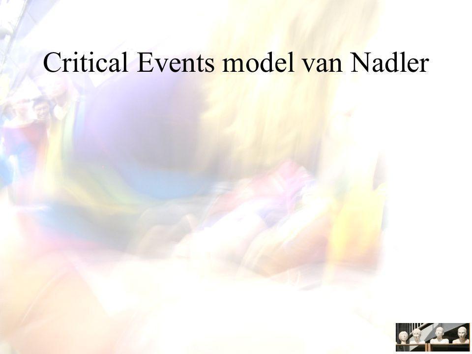 Critical Events model van Nadler