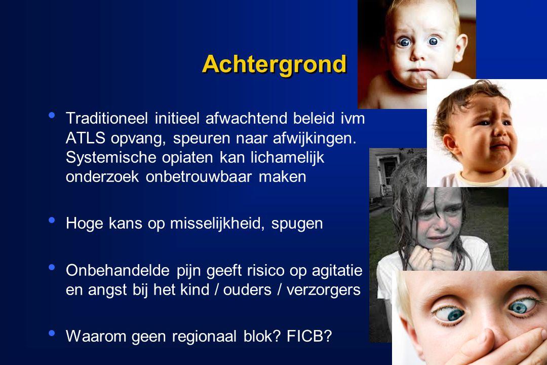 Conclusie Bij kinderen met acute of post operatieve pijn aan een van onderste ledematen, lijkt een FICB een effectieve manier van pijnstilling, zonder gerapporteerde complicaties.
