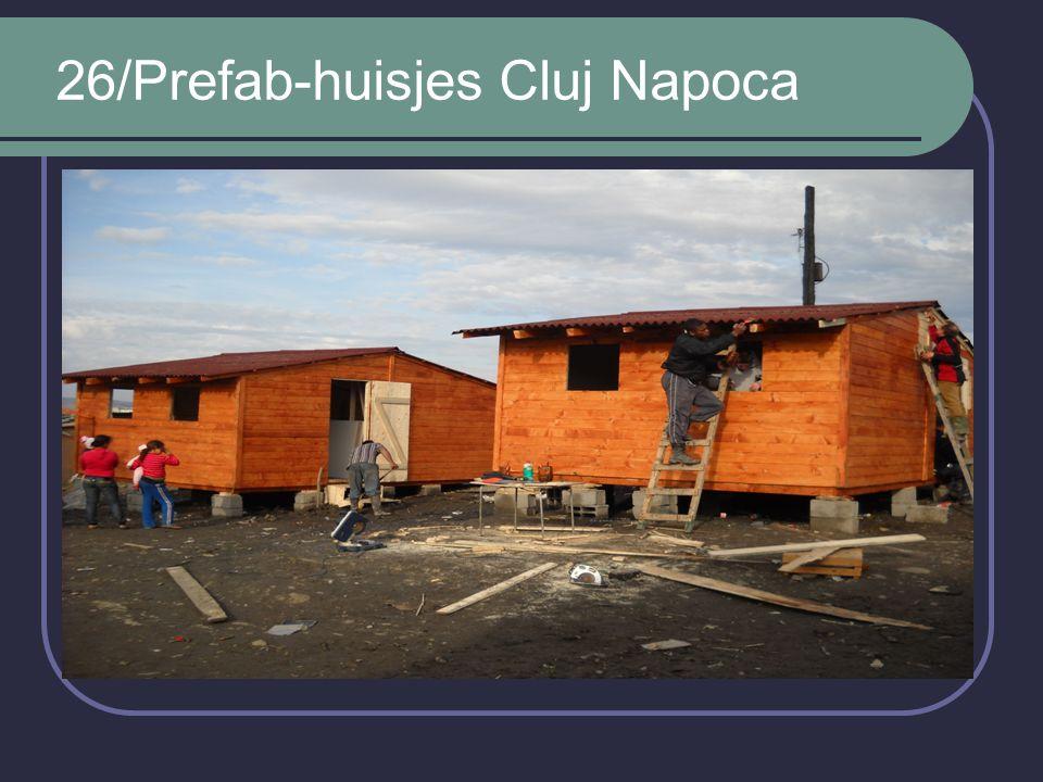 26/Prefab-huisjes Cluj Napoca