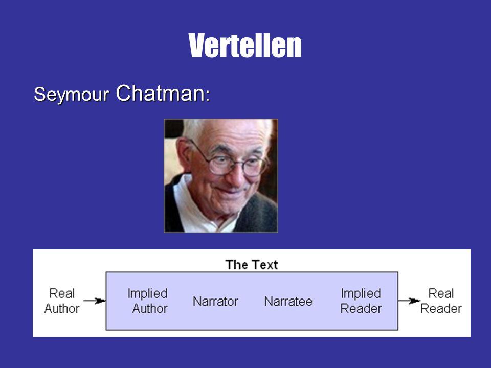Seymour Chatman : Vertellen