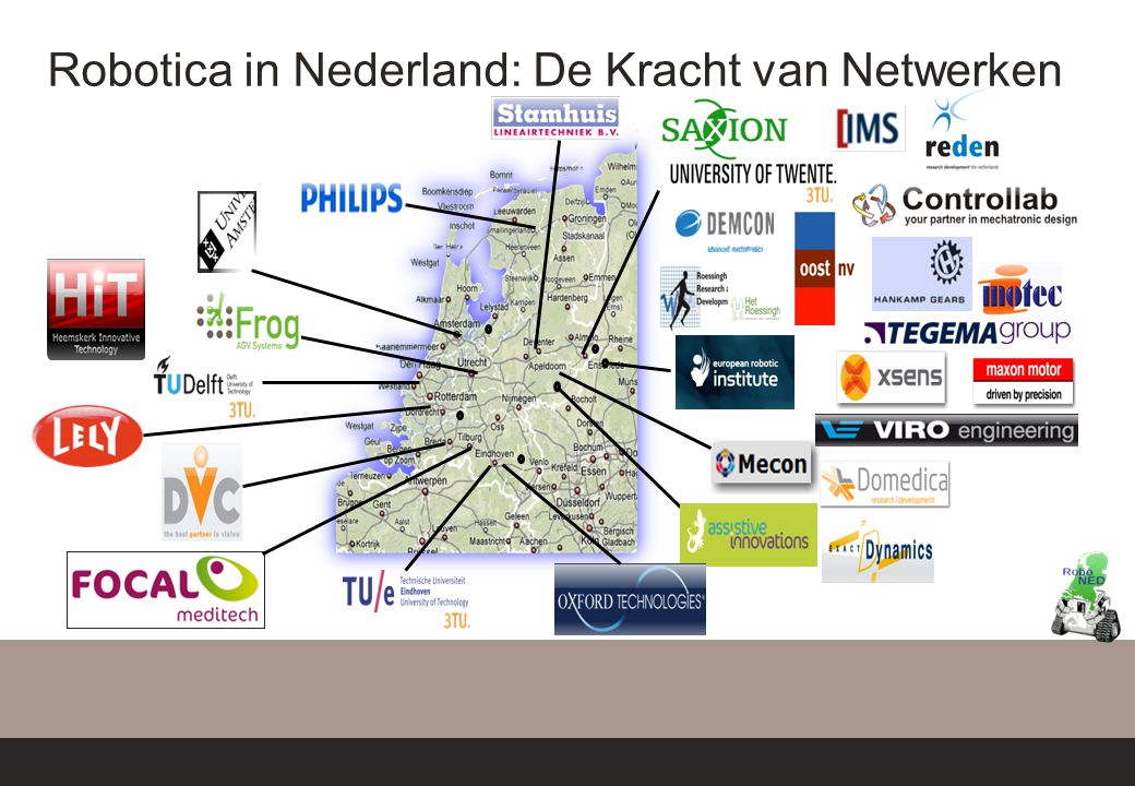Robotica in Nederland: De Kracht van Netwerken