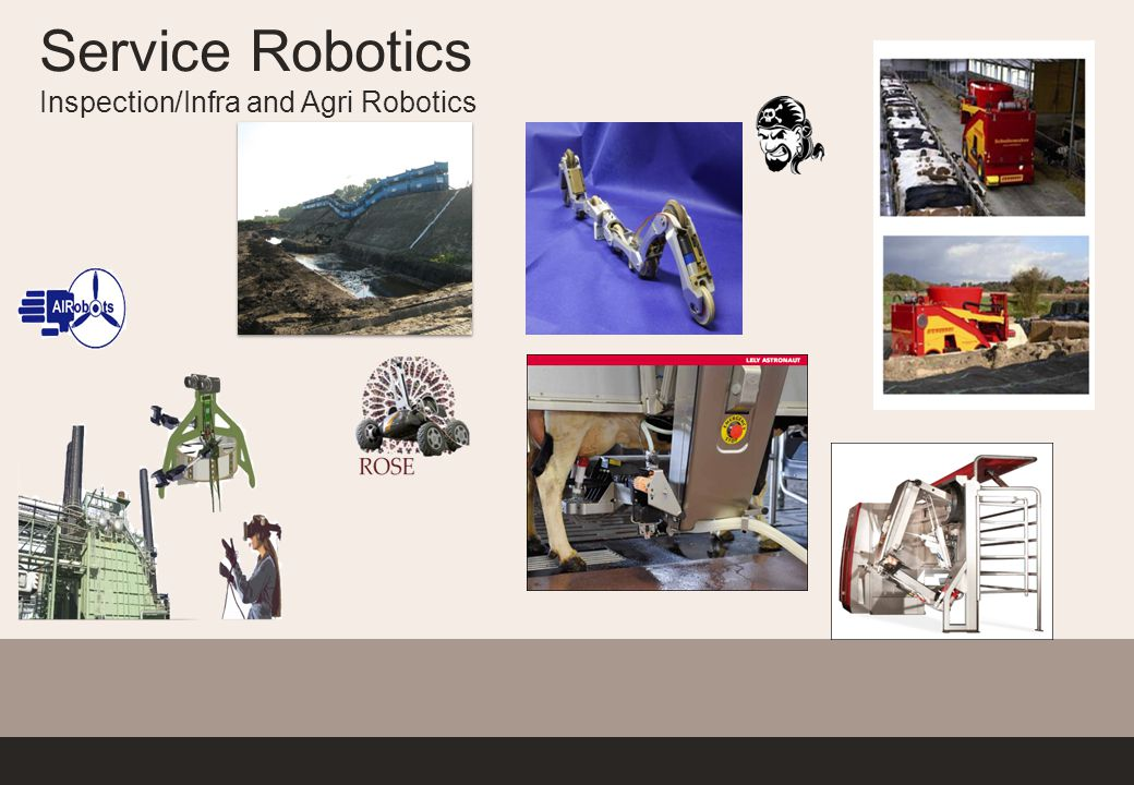 Service Robotics Inspection/Infra and Agri Robotics