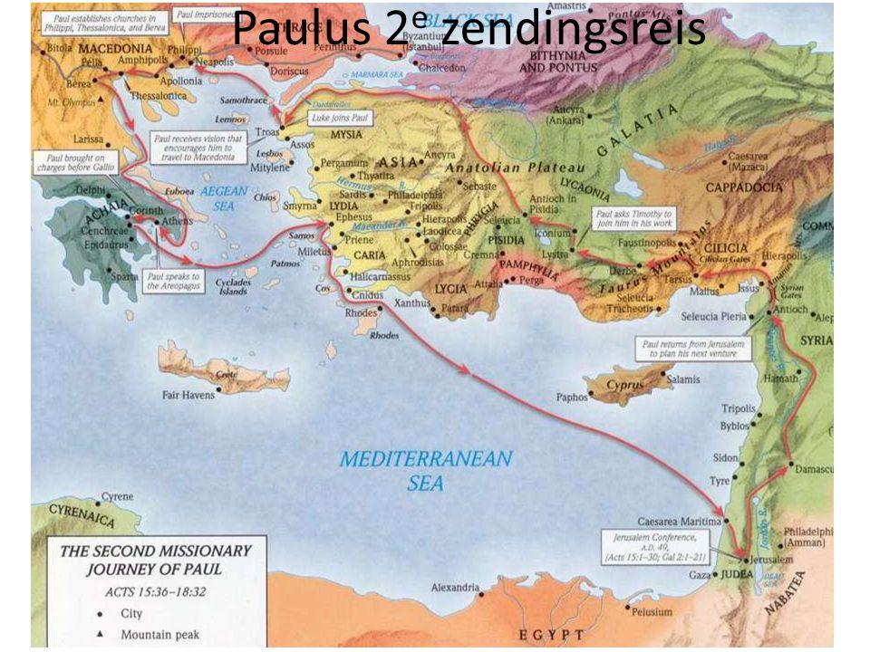 Paulus 2 e zendingsreis