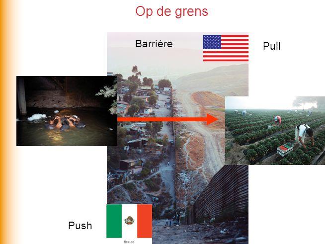 Op de grens Push Pull Barrière