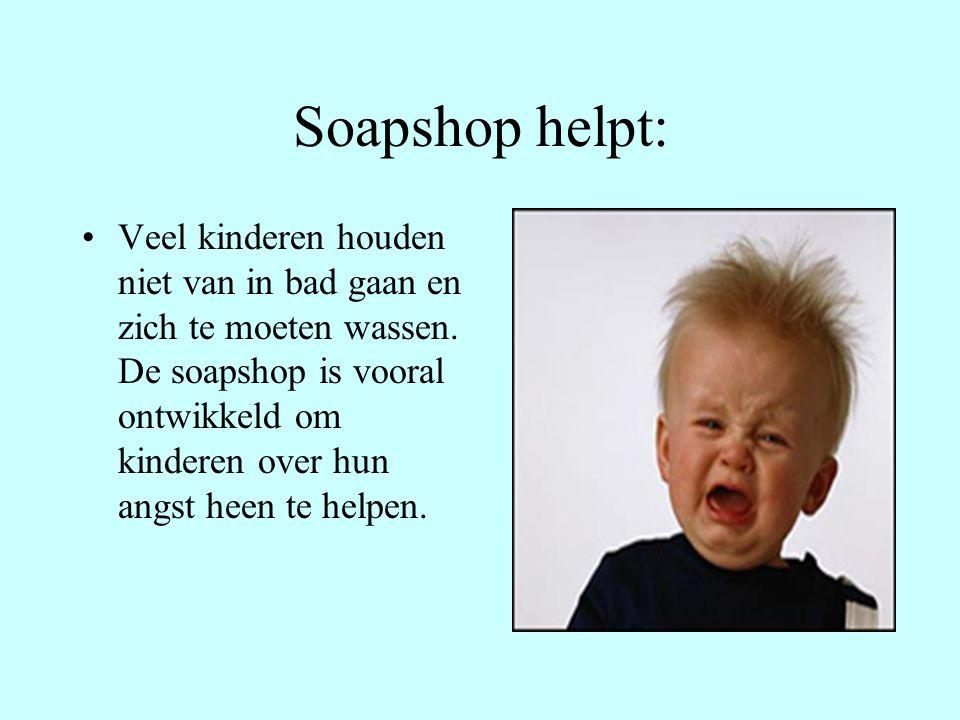 Kind en zeep: De Soapshop is vooral bedoeld om kinderen op een uitgebalanseerde manier in aanraking te laten komen met zeep.