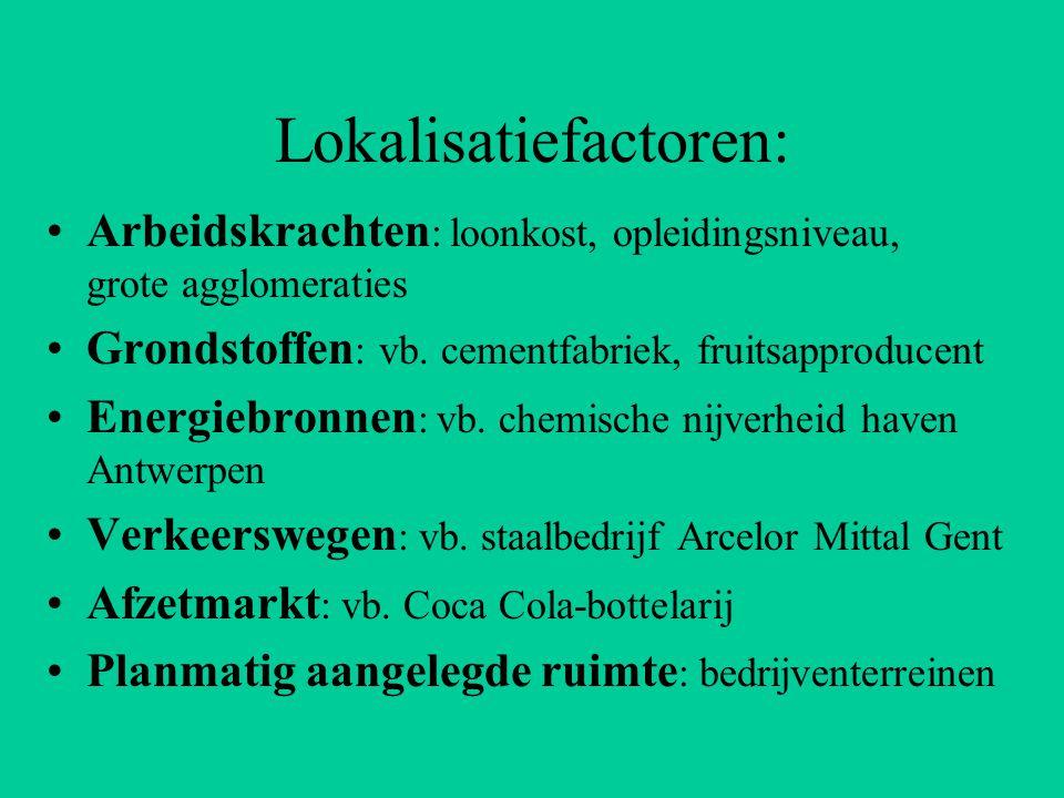 Arcelor Mittal Gent Kalksteen IJzererts Cokes Staalrol Staalplaat Halffabrikaten Basisindustrie: maakt van grondstoffen en energiebronnen halfafgewerkte producten