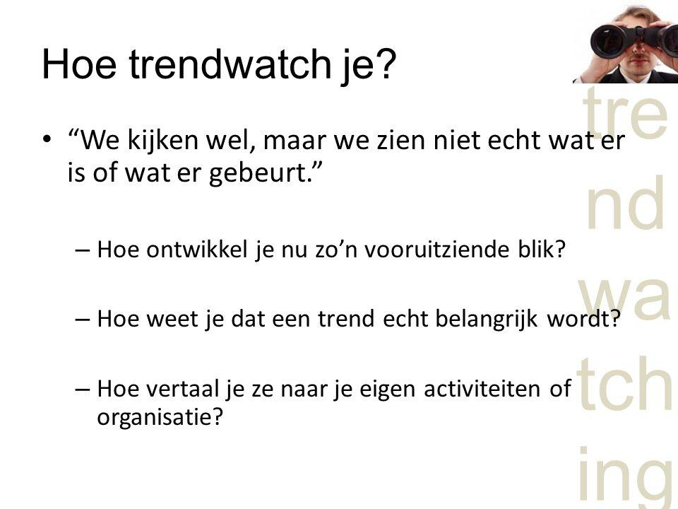 Hoe trendwatch je.