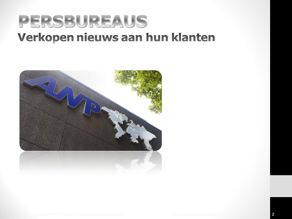 © 2010 Noordhoff Uitgevers bv, Groningen/Houten Communicatie Handboek 2