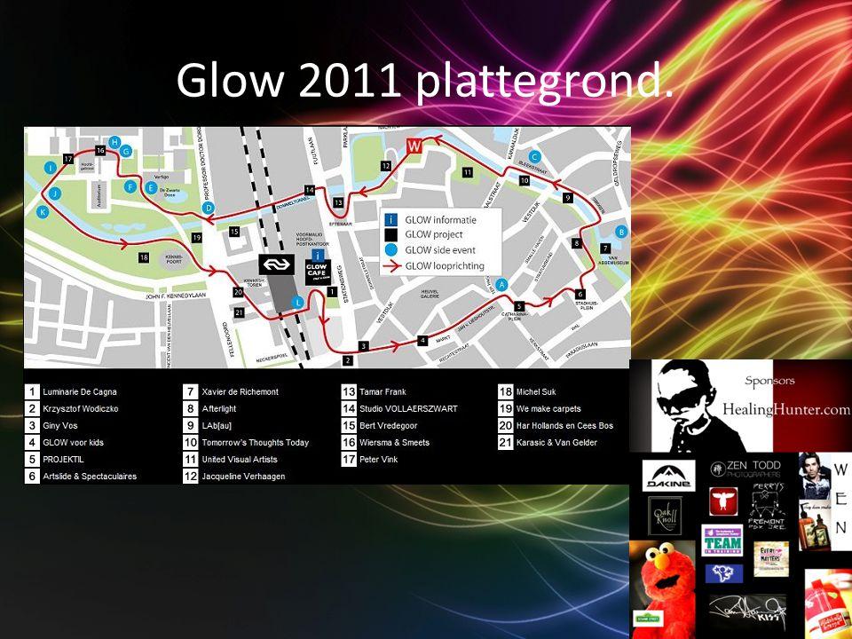 Glow 2011 plattegrond.