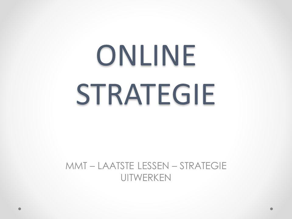 ONLINE STRATEGIE MMT – LAATSTE LESSEN – STRATEGIE UITWERKEN