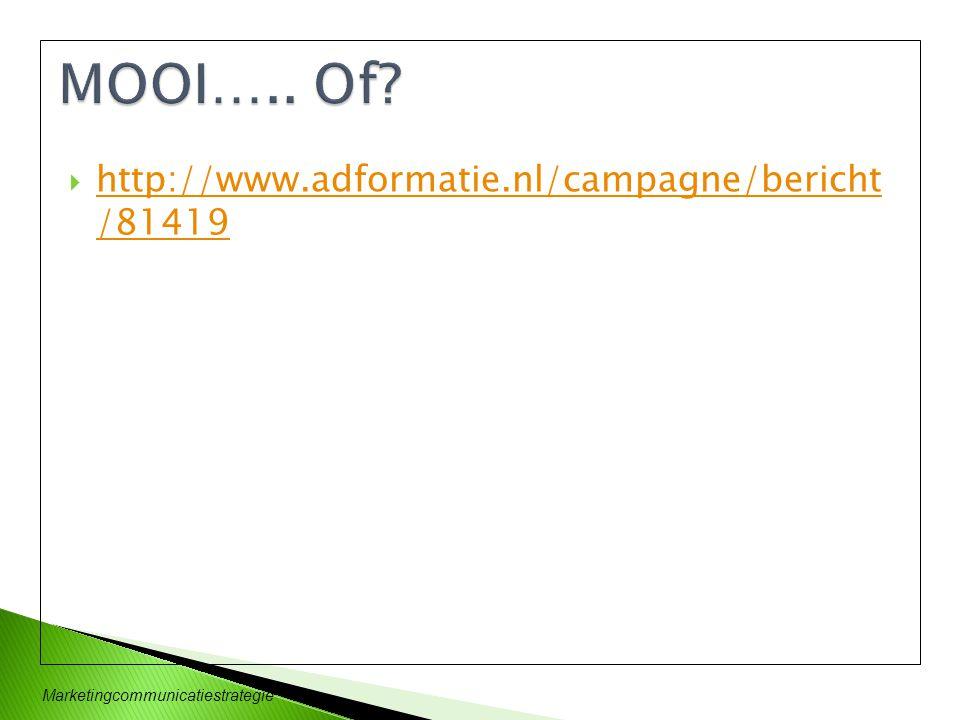 Marketingcommunicatiestrategie  Dichotomie  Maatschappij  GENERATIE EINSTEIN