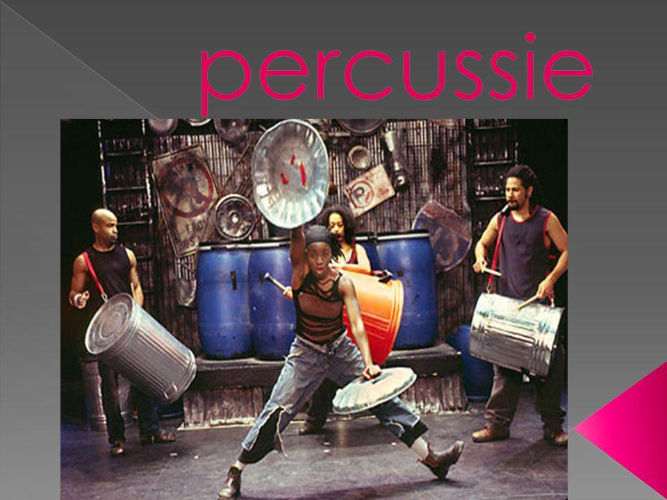 1) Inhoudstafel 2) Wat is percussie.