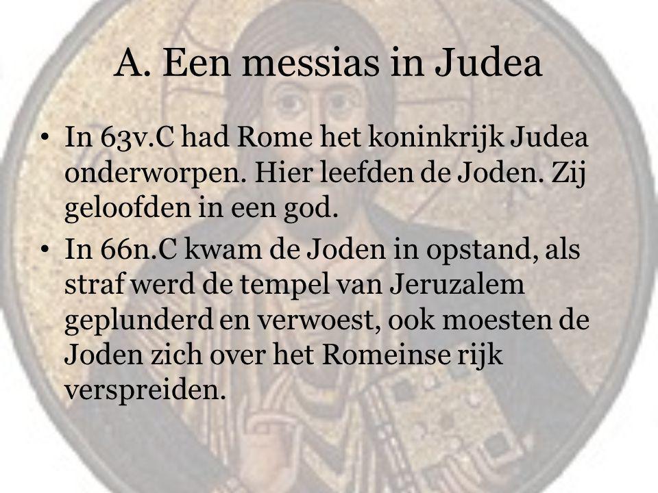 Het optreden van Jezus Al in 30 n.C trok Jezus van Nazareth door Judea.