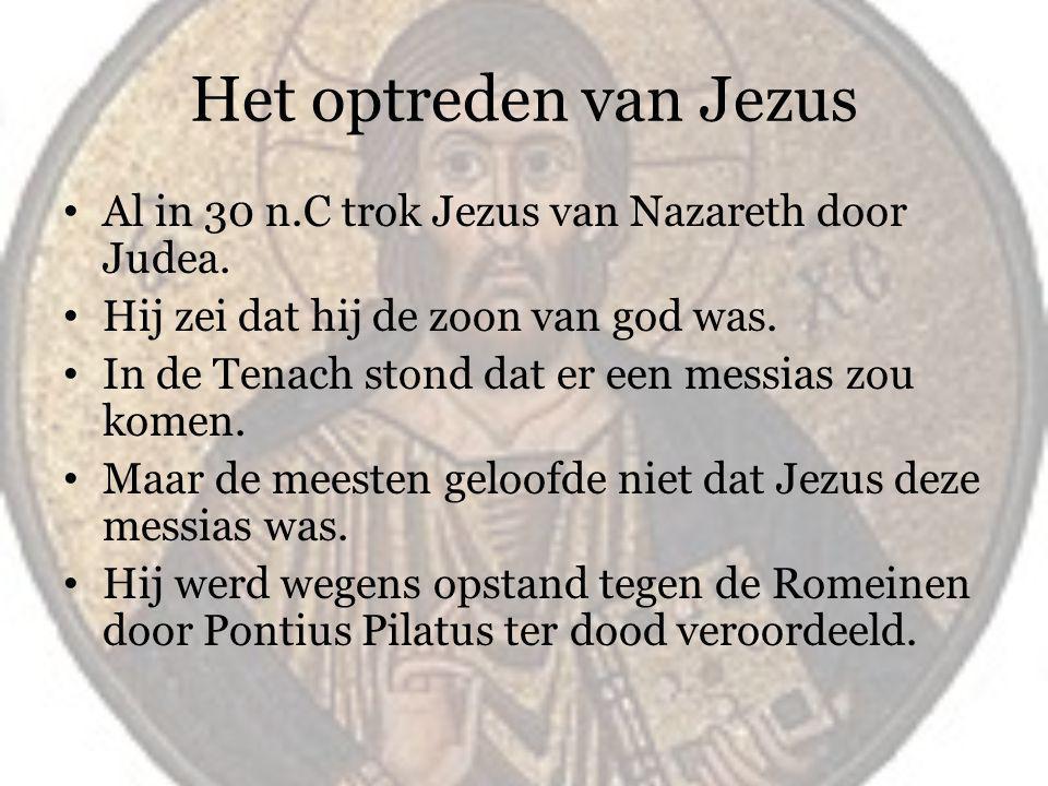 Jezus sterft aan het kruis.