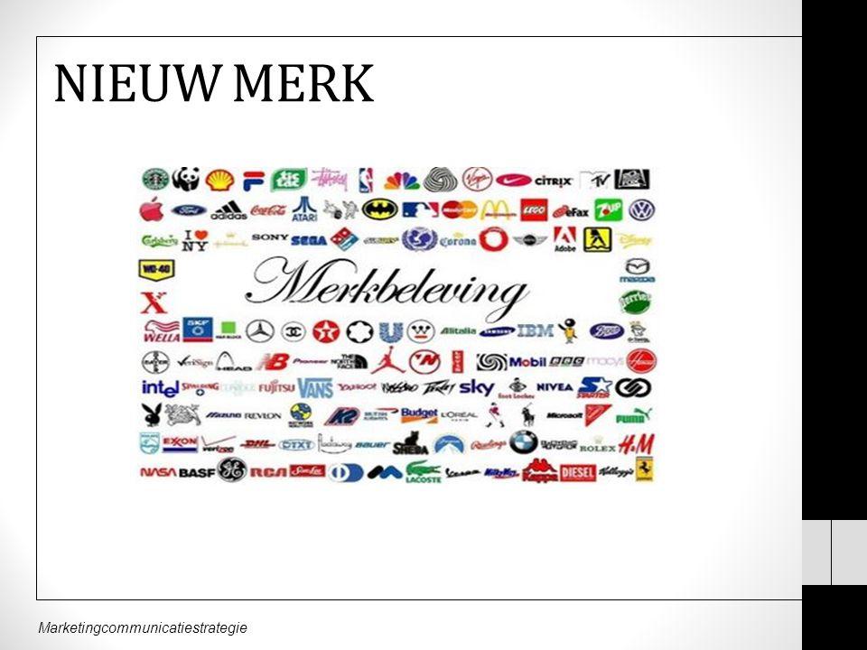 Marketingcommunicatiestrategie NIEUW MERK