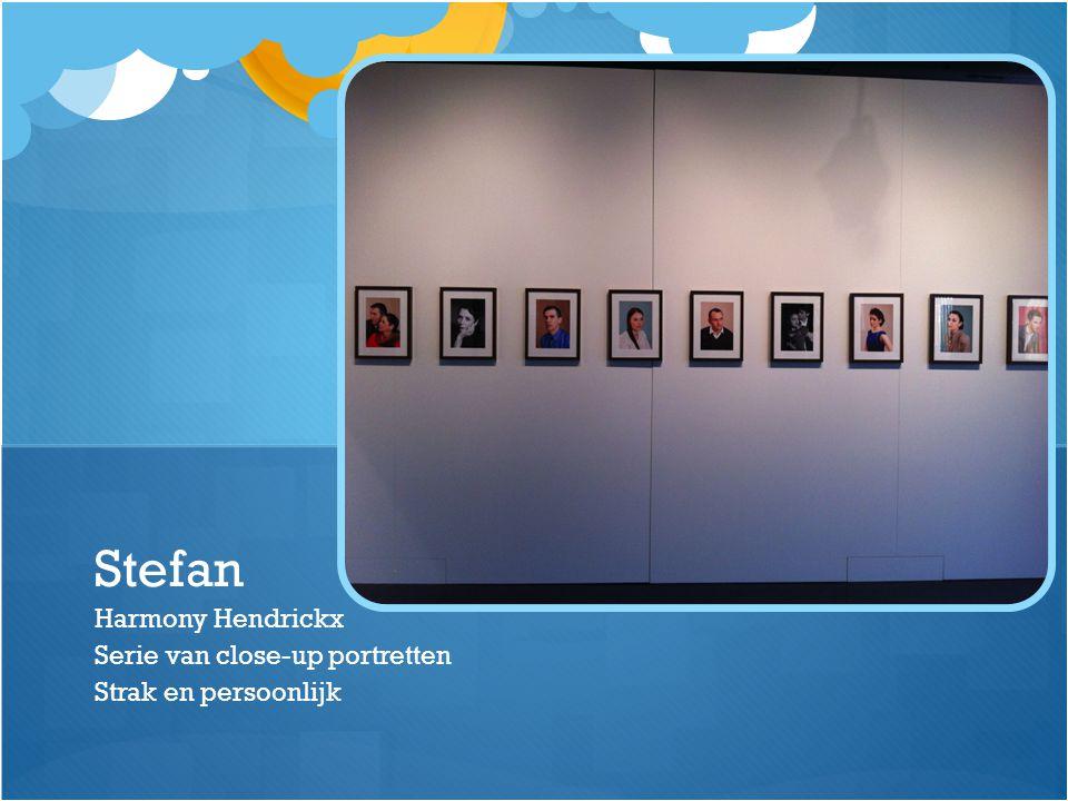 Harmony Hendrickx Serie van close-up portretten Strak en persoonlijk Stefan