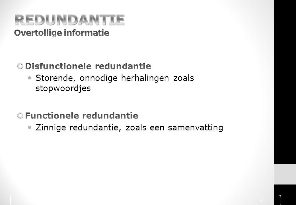© 2010 Noordhoff Uitgevers bv, Groningen/Houten Communicatie Handboek 44