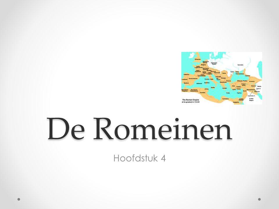 De Romeinen Hoofdstuk 4