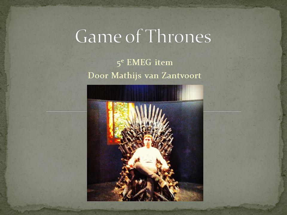 5 e EMEG item Door Mathijs van Zantvoort