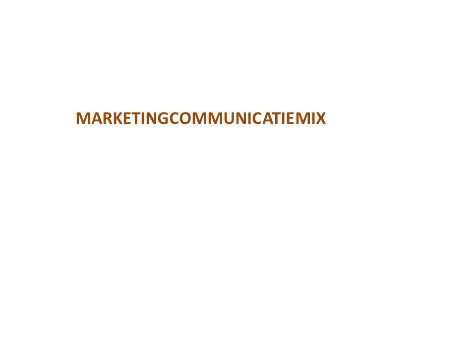 MARKETINGCOMMUNICATIEMIX