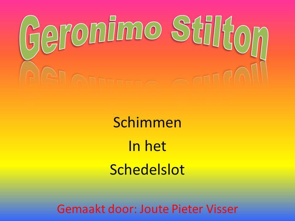 Schimmen In het Schedelslot Gemaakt door: Joute Pieter Visser