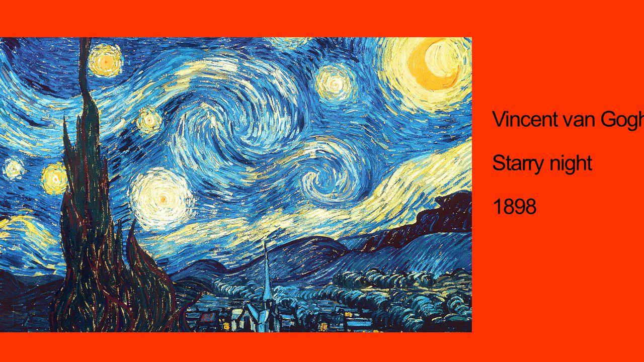 Vincent van Gogh Starry night 1898
