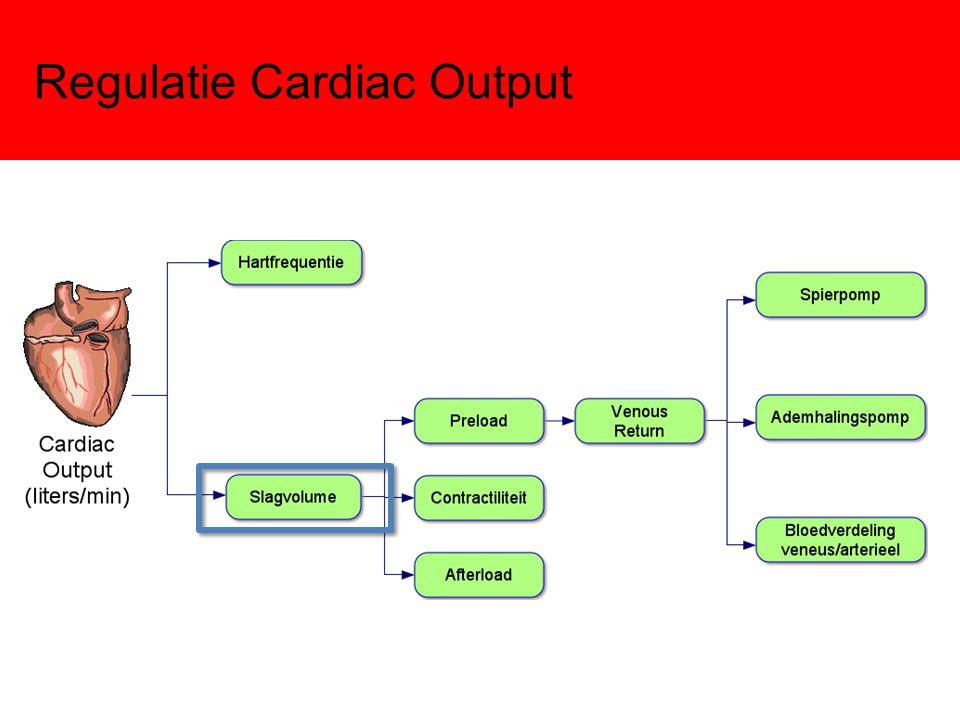 Regulatie Cardiac Output: Preload