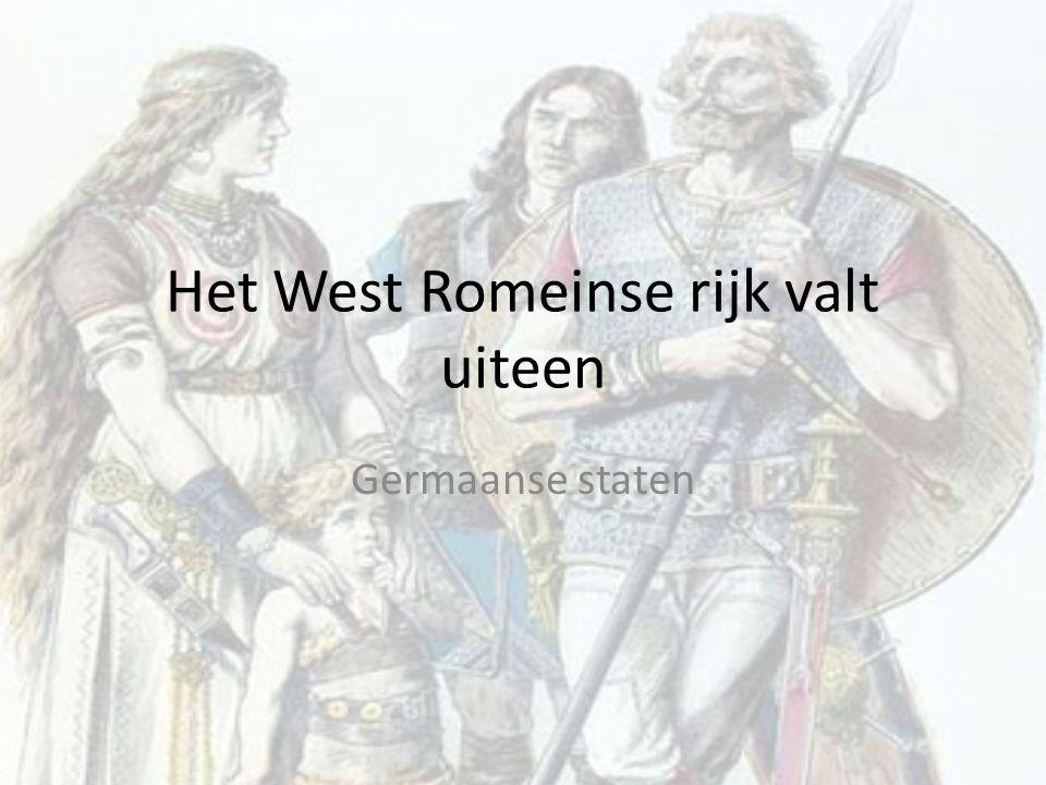 Oost en West 395 twee delen Ieder deel eigen keizer Oost-Romeinse rijk tot 1453, verovering door Osmaanse turken.