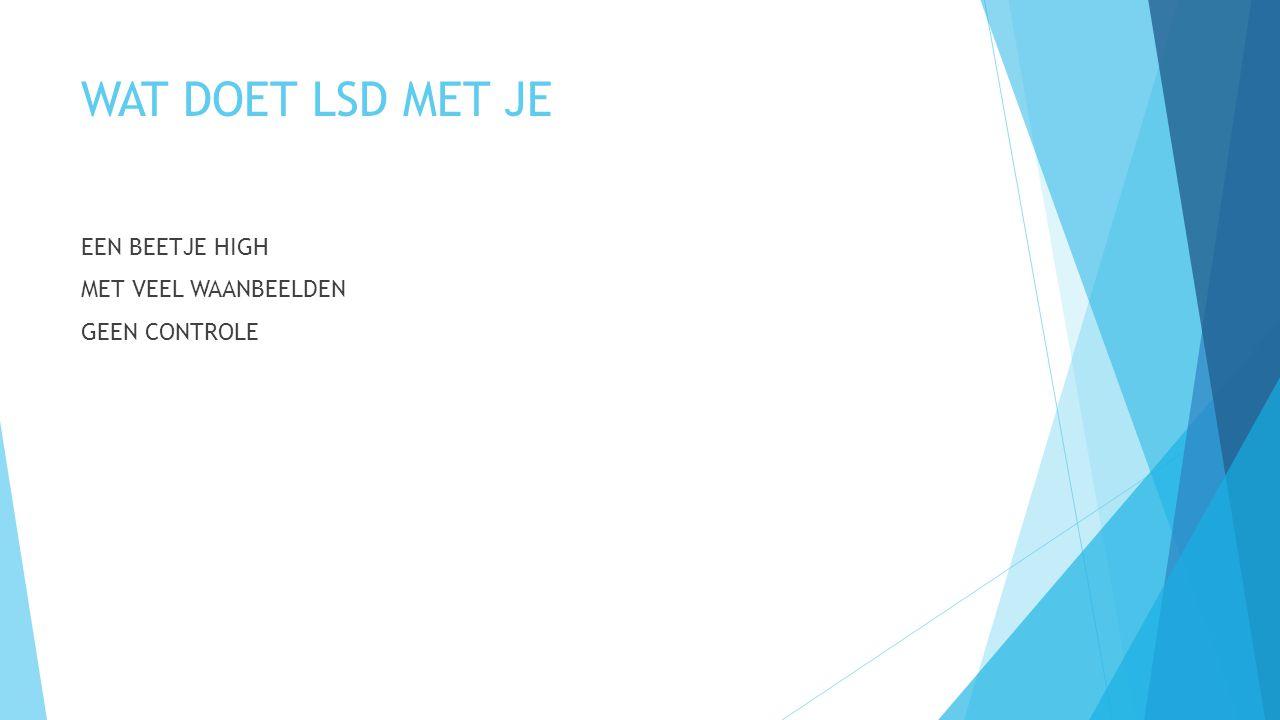WAT IS LSD  HARD DRUGS