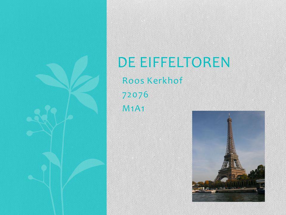 Roos Kerkhof 72076 M1A1 DE EIFFELTOREN