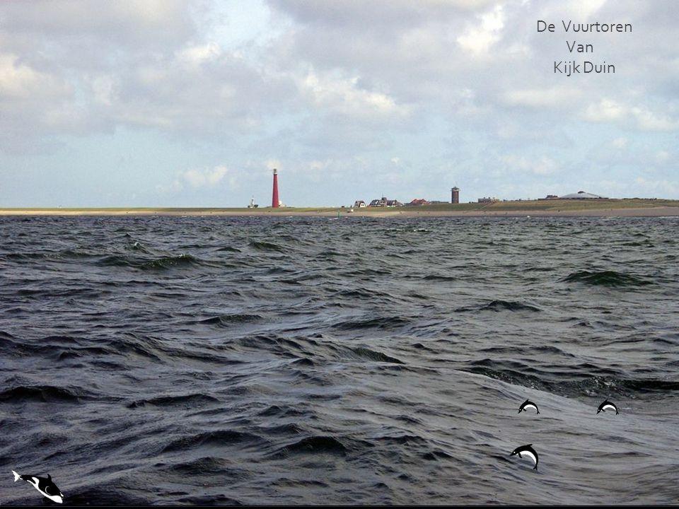 De Vuurtoren van Noordwijk.Lichtbaken te Borkum