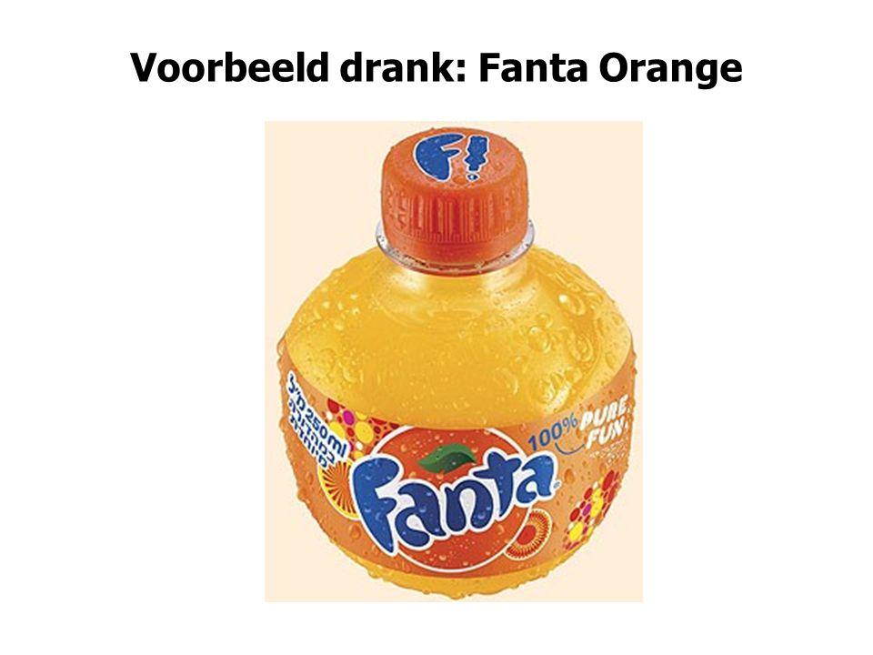 Voorbeeld drank: Fanta Orange