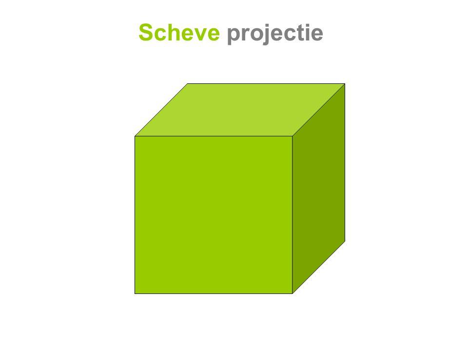 Scheve projectie