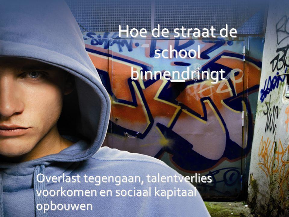 Hoe de straat de school binnendringt Overlast tegengaan, talentverlies voorkomen en sociaal kapitaal opbouwen