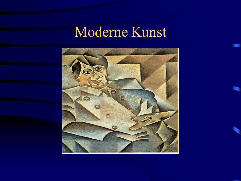 Wat is moderne kunst?