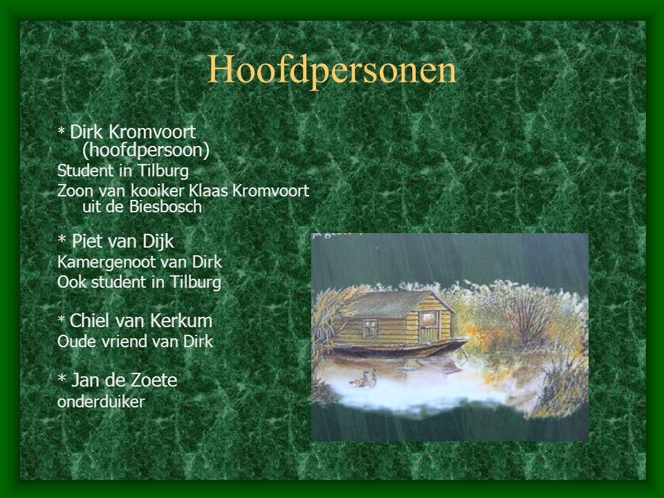Gegevens van het boek Titel: De vos van de Biesbosch Subtitel: een verzetsgroep in actie Auteur: Ad van Gils Illustraties: Dick van de Pol Uitgeverij: