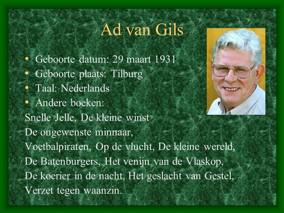 Andere delen van de Vos van de Biesbosch Deel 1 Een verzetsgroep in actie Deel 2 Jacht op een verrader Deel 3 Terug in bezet gebied