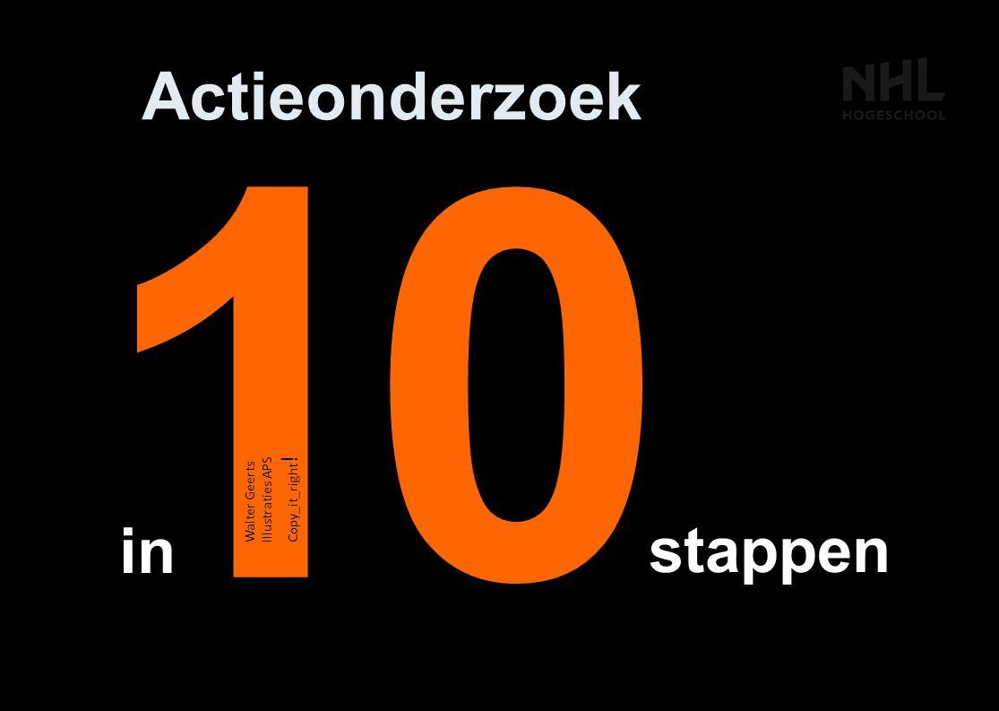 1 Actieonderzoek stappen in 0 Walter Geerts Illustraties APS Copy_it_right !