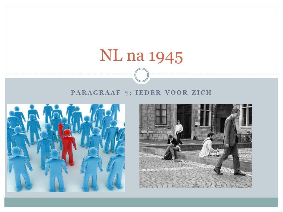 PARAGRAAF 7: IEDER VOOR ZICH NL na 1945