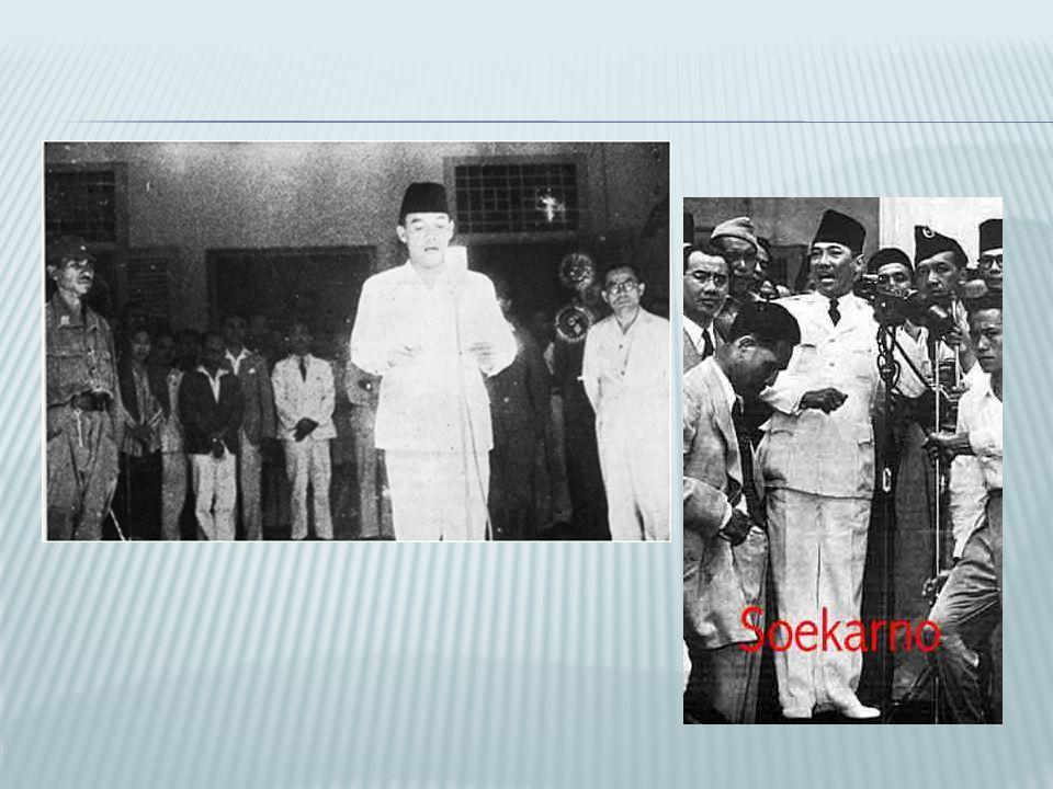  Indonesië blijft kolonie van Nederland  Indonesië was nog niet klaar om zelfstandig te worden.