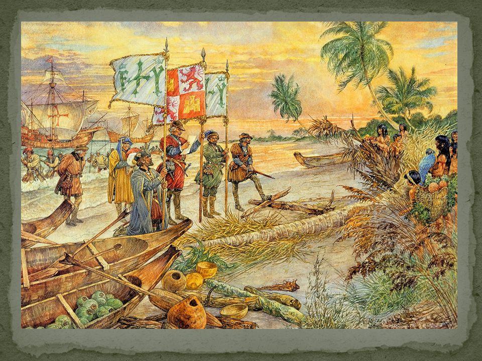 Vanaf 1600 kwamen er steeds meer Europeanen.