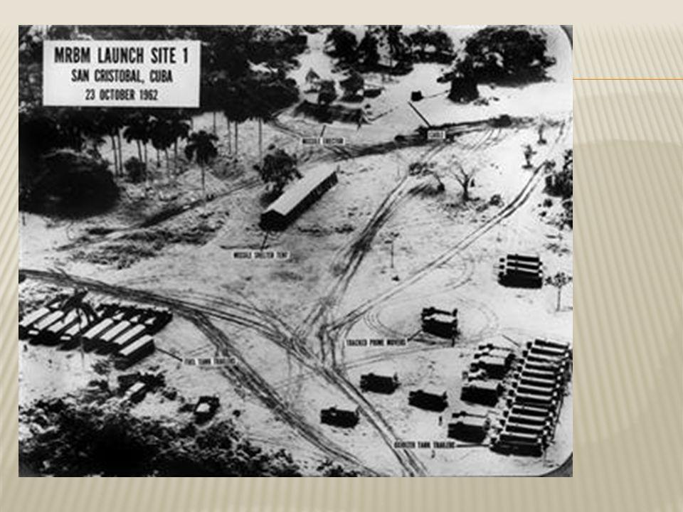  Cubacrisis duurde 10 dagen,  Wereld was doodbang voor atoomoorlog.