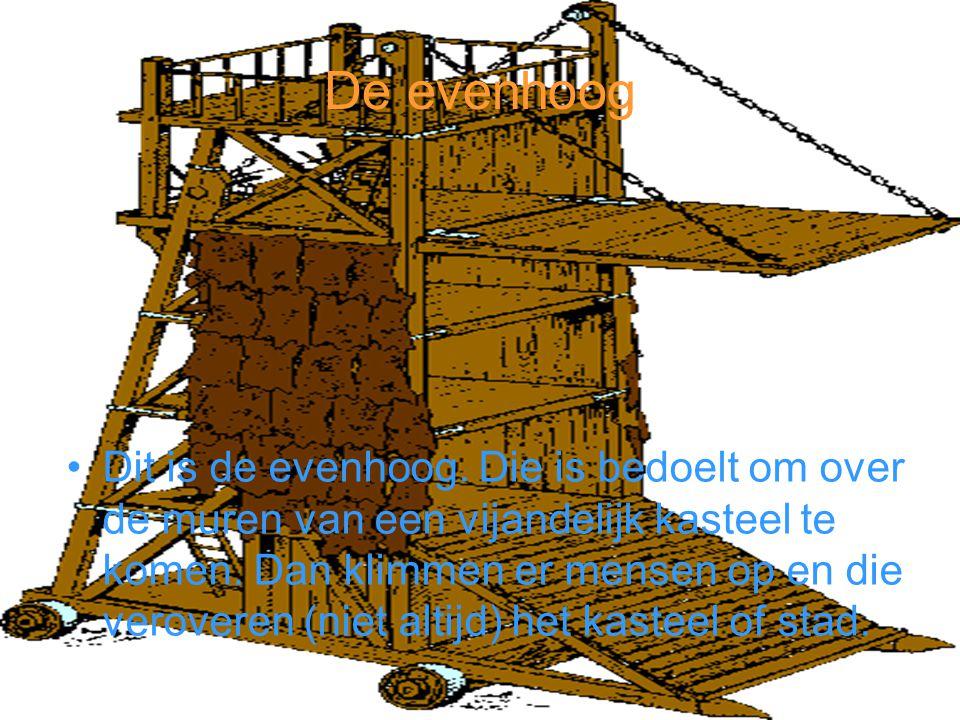 De Stormram De stormram is een van de oudste belegeringswapens die er is.