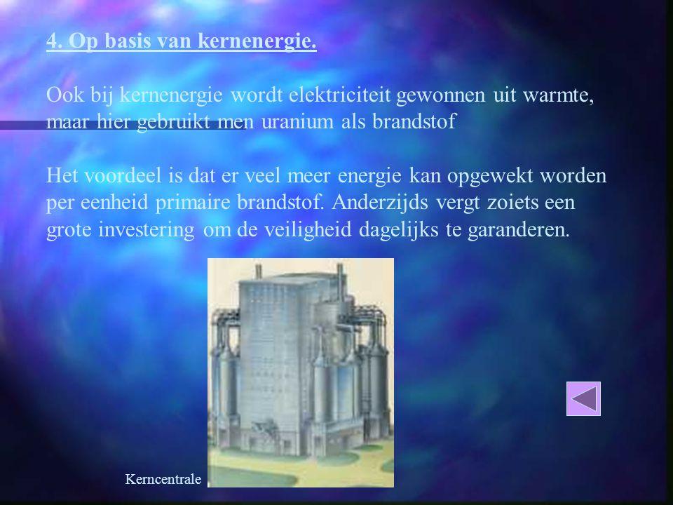 4.Op basis van kernenergie.