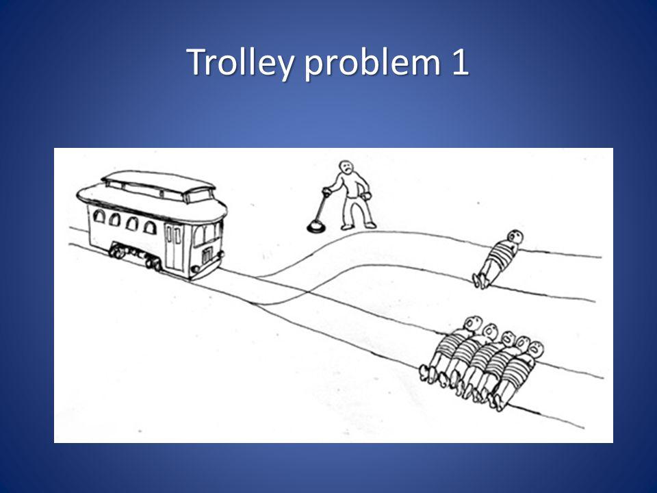 Trolley problem 1