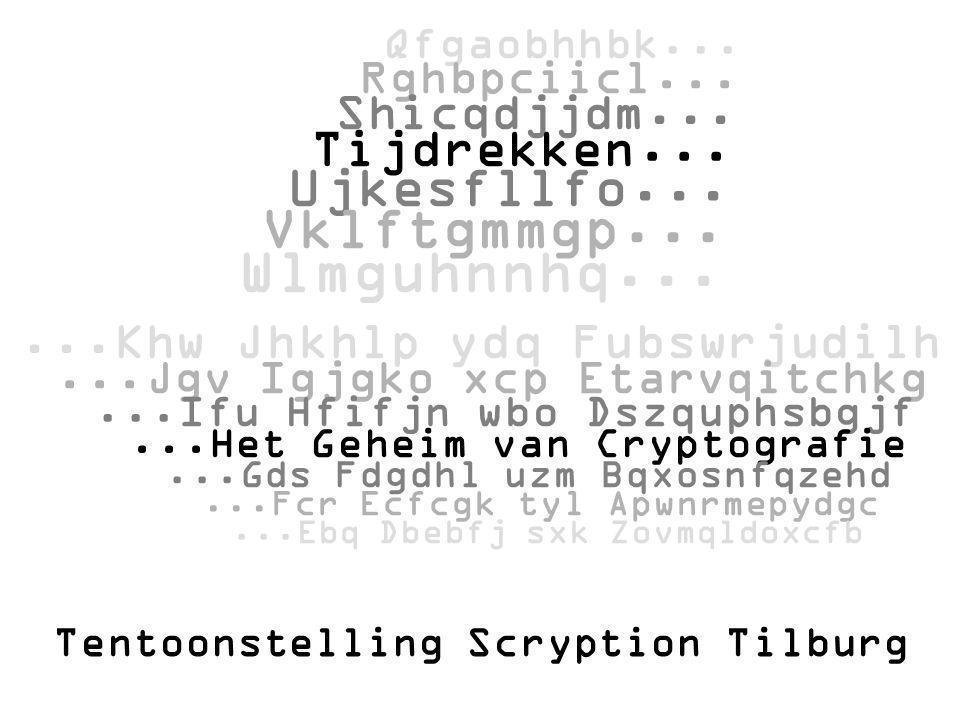 Tentoonstelling Scryption Tilburg Qfgaobhhbk... Rghbpciicl... Shicqdjjdm... Tijdrekken... Ujkesfllfo... Vklftgmmgp... Wlmguhnnhq......Khw Jhkhlp ydq F